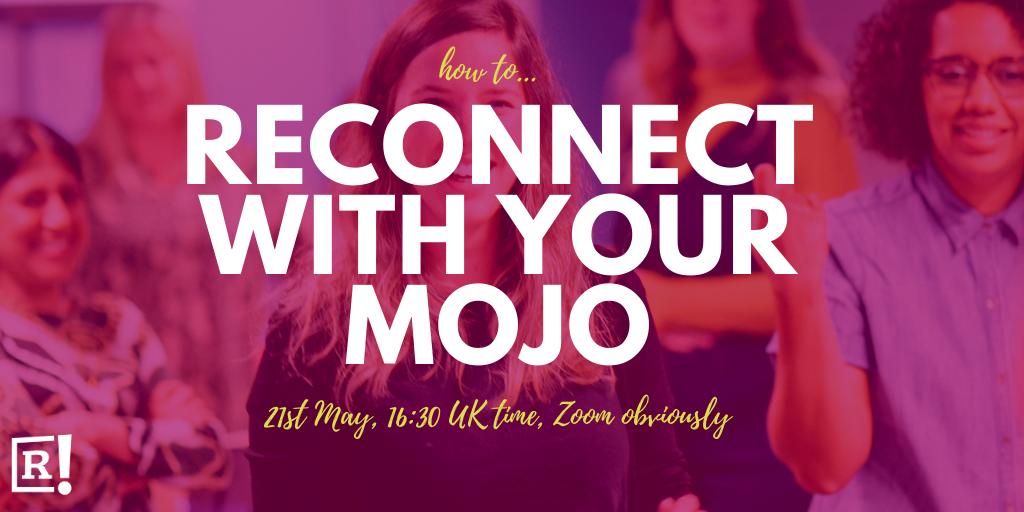 Reconnect to your mojo recording